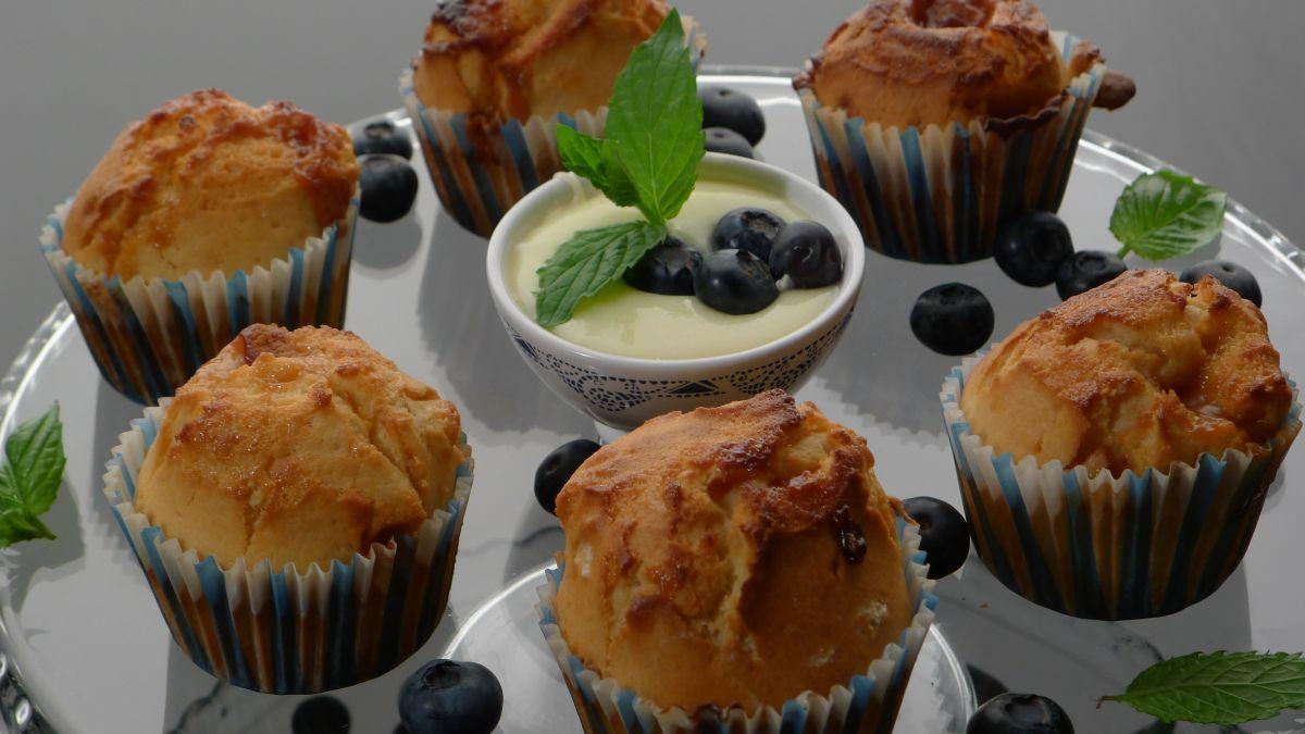 Muffinki krówkowe